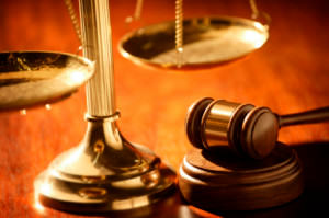 Picture of Legal Scales and a gavel